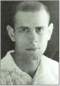 Francisco Martín Arencibia, recién llegado al Tenerife, en 1930, desde el Hespérides. Triunfó a lo grande en el At. Madrid y At. Aviación.