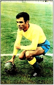 Pepe Juan con la camiseta de La U. D. Las Palmas, en 1973.