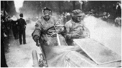 Carrera París-Madrid, 1903. Fuente: Grand Prix History, recuperado de http://www.grandprixhistory.org/paris1903.htm
