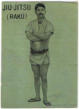 Rakú. Fuente: todocolección. Recuperado de https://www.todocoleccion.net/coleccionismo-deportivo-cromos/cromo-n-1-jiu-jitsu-raku-dragon-japones-evaristo-juncosa-foto-adicional~x36353845