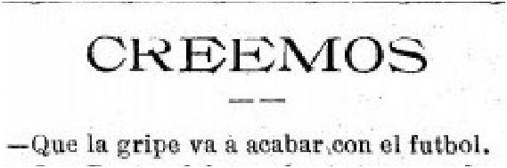 Madrid-Sport, 24 de octubre de 1918