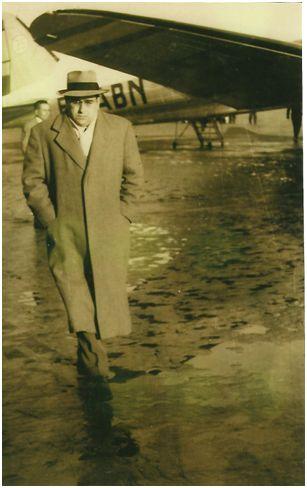 Juan José Vallejo hacia 1946 con 59 años. (Archivo Familia Vallejo)