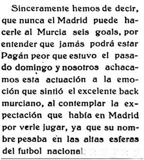 Murcia Deportiva, 11 de marzo de 1926