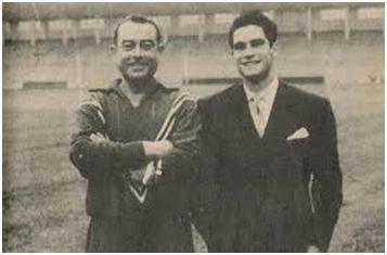 Herrerita (padre) con Jesús Herrera (hijo)