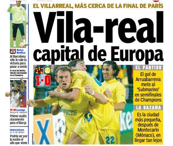 Foto Diario Marca 5 de abril de 2006
