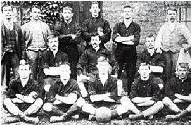 Upton Park FC en París 1900