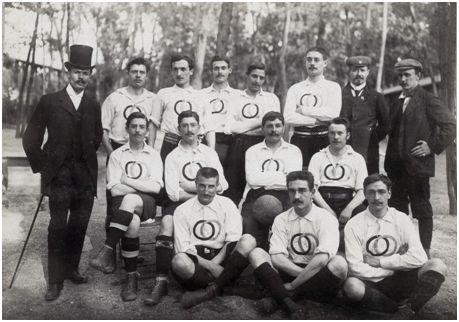 Equipo de la USFSA en París 1900