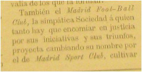 El Mundo Sportivo, 11 de noviembre de 1903.