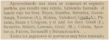 Heraldo del Sport, 15 de abril de 1902.
