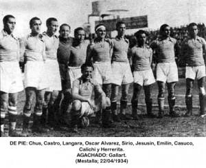 Oviedo en Mestalla 22-04-1934